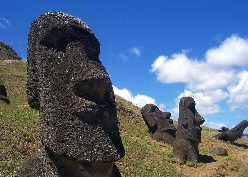Peradaban yang hilang - Rapa Nui