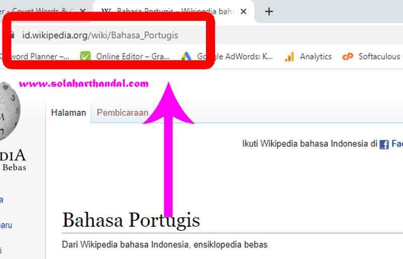 contoh nama URL blog